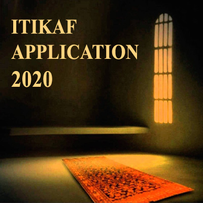 Itikaf Application